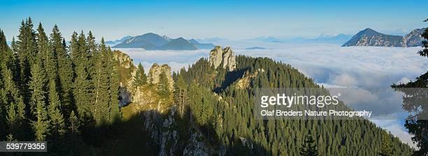 Inversion in Bavarian Alps