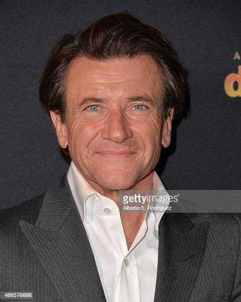 Inverstor Robert Herjavec attends the premiere of ABC's Dancing With The Stars season 20 at HYDE Sunset Kitchen Cocktails on March 16 2015 in West...