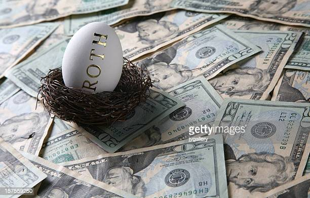 invest money into your roth - ira stock photos and pictures