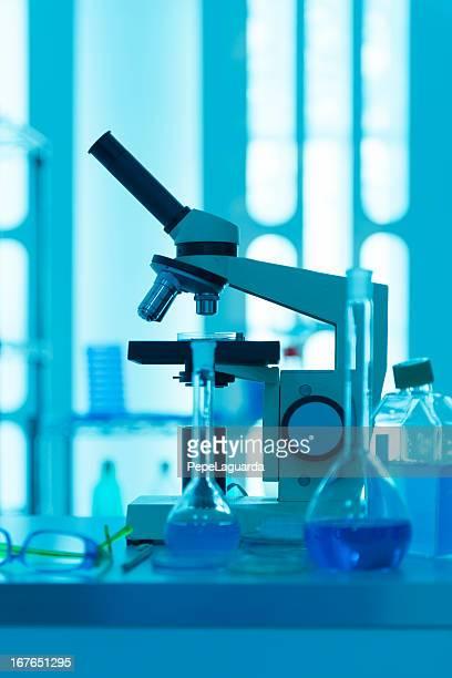 調査研究所 - フラスコ ストックフォトと画像