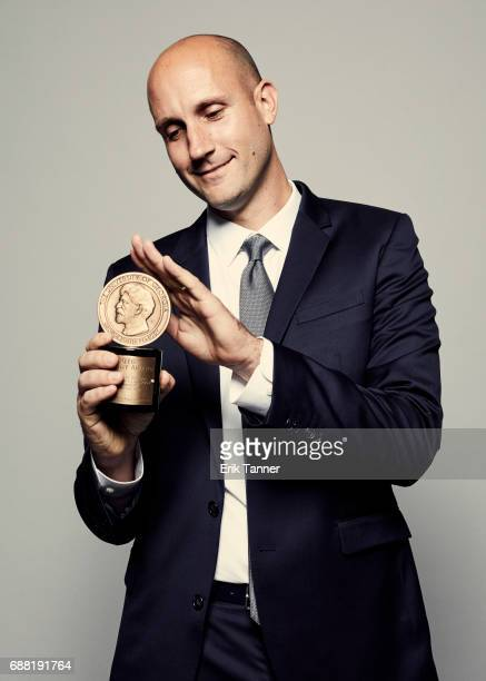 Investigative Producer at NBC Bay Area Michael Bott is photographed at the 76th Annual Peabody Awards at Cipriani Wall Street on May 20 2017 in New...