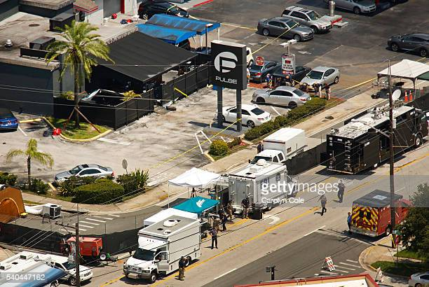 FBI investigators continue to work at the Pulse nightclub on Wednesday June 15 2016 Photo by Carolyn Cole/Los Angeles Times via Getty Images