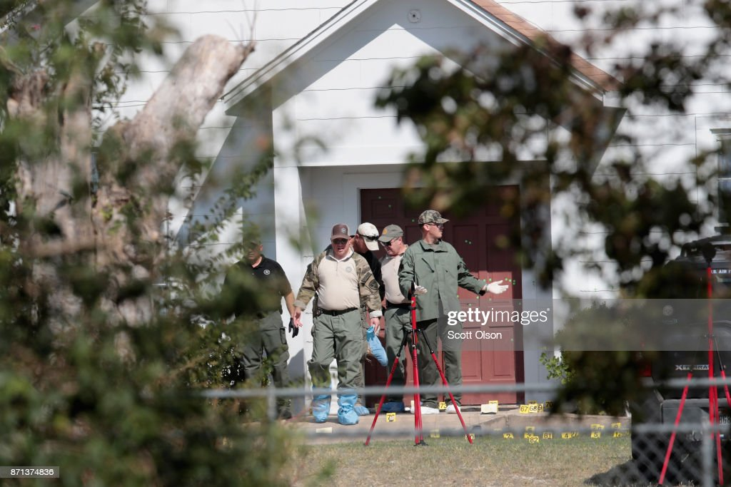 26 People Killed And 20 Injured After Mass Shooting At Texas Church : News Photo