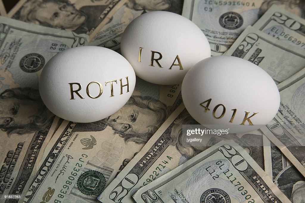 Investing in your retirement : Stock Photo
