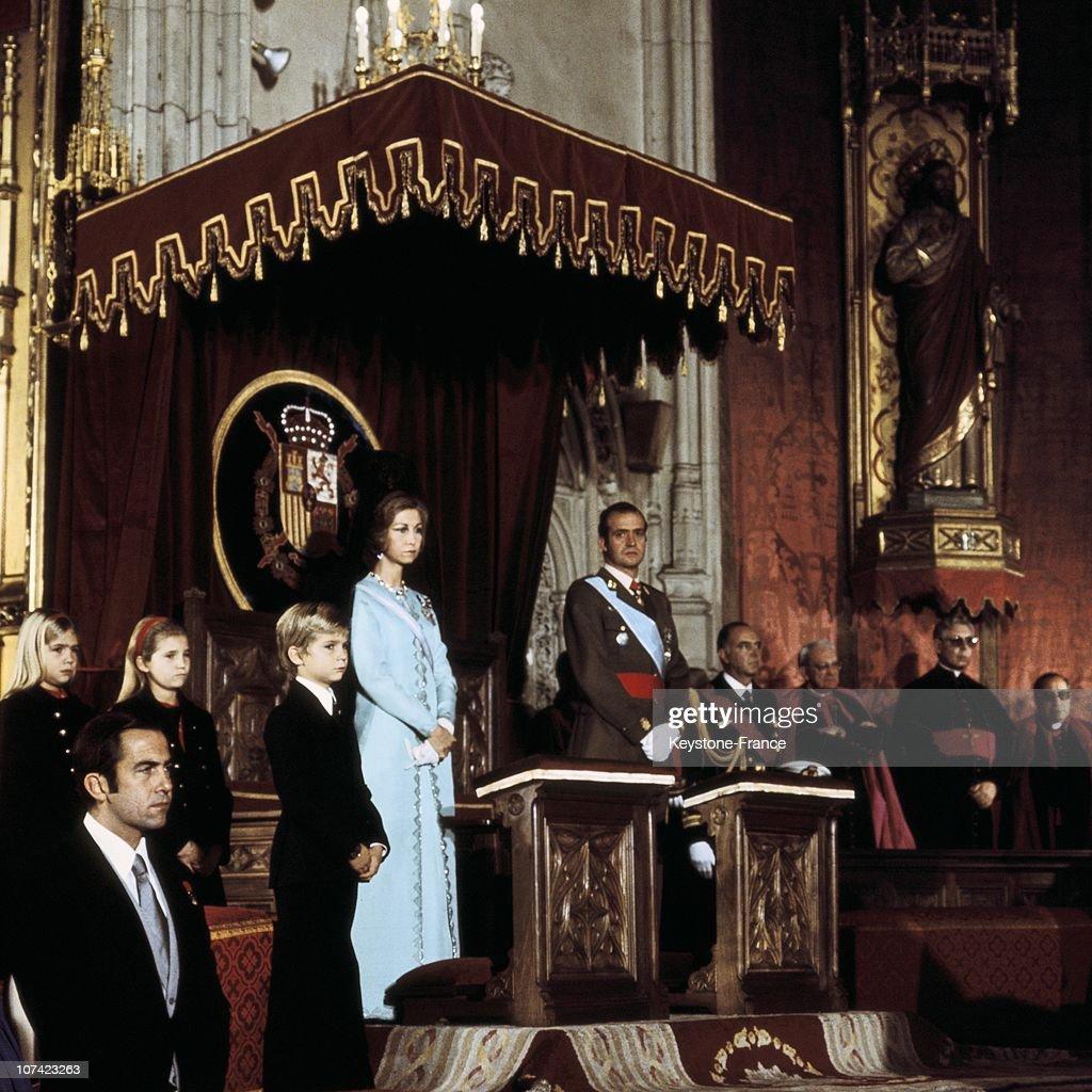 Investiture Of Juan Carlos 1St In Spain : News Photo