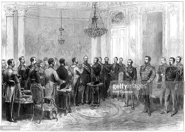 Investiture of President MacMahon with the Spanish Order of the Golden Fleece 1875 Patrice de MacMahon served in the French Army in the Crimean War...