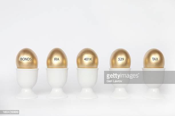 Investment portfolio eggs