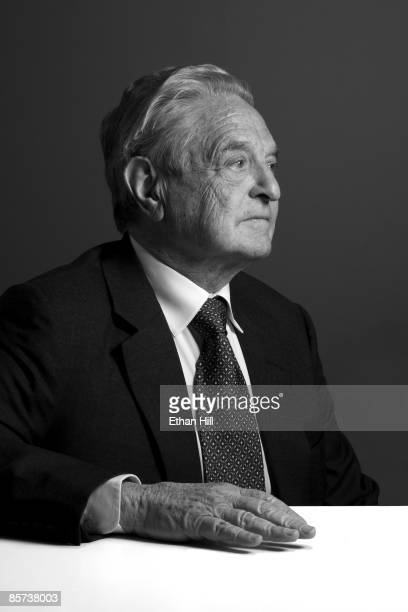 Investor and philanthropist George Soros poses at a portrait session in his office in New York City Published image