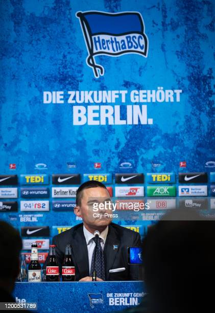 Investor Lars Windhorst during the press conference on february 13 2020 in Berlin Germany