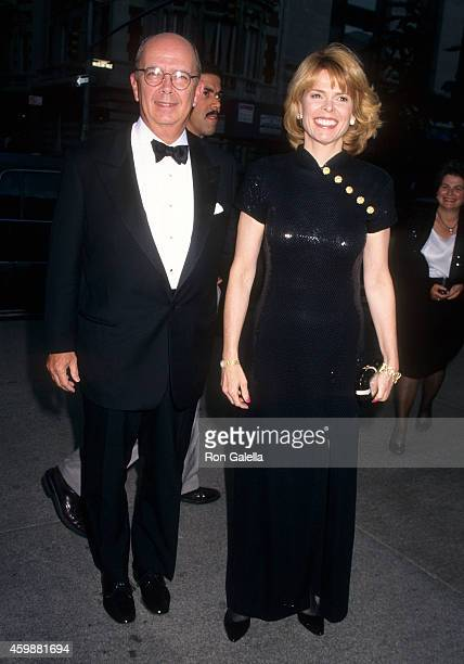 Investor Wilbur Ross and politician Betsy McCaughey attend the New York Times' 100th Anniversary Celebration on June 26 1996 at the Metropolitan...