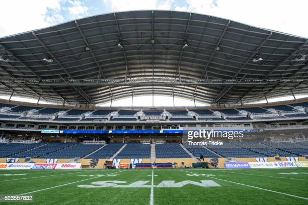 investors group field football stadium - investors group field stock pictures, royalty-free photos & images