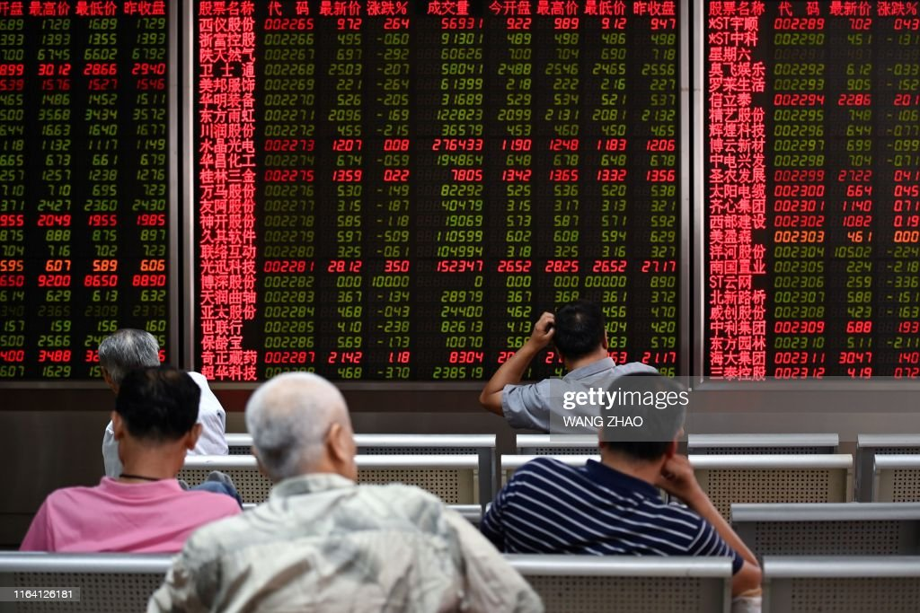 CHINA-STOCKS : News Photo