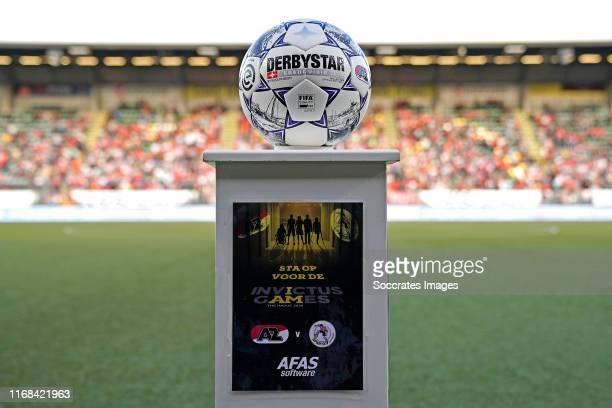 Invictus games during the Dutch Eredivisie match between AZ Alkmaar v Sparta at the AFAS Stadium on September 14, 2019 in Alkmaar Netherlands