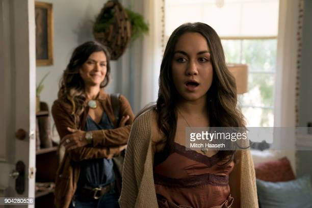 THE FOSTERS 'Invisible' Callie actively helps to make Ximenas fight visible Meanwhile Brandon and Grace struggle to be intimate knowing her diagnosis...