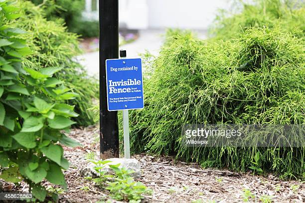 Invisible Fence Brand Sign