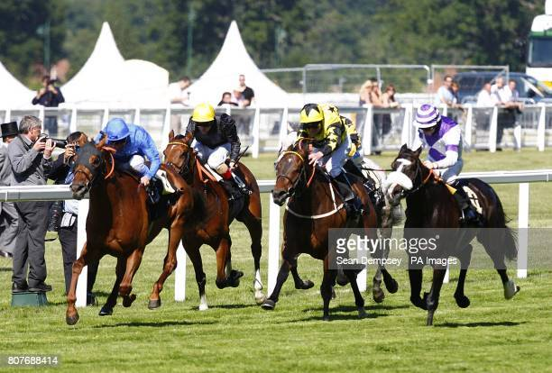 Invisible Man ridden by Frankie Dettori wins the Royal Hunt Cup at Royal Ascot