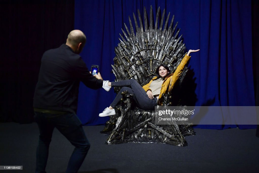 Game Of Thrones: The Touring Exhibtion - Press Conference : News Photo