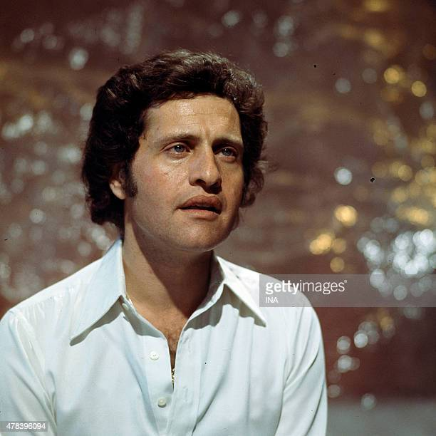 Invited Joe Dassin star of the program ''Number one'' realized by Marion Sarraut