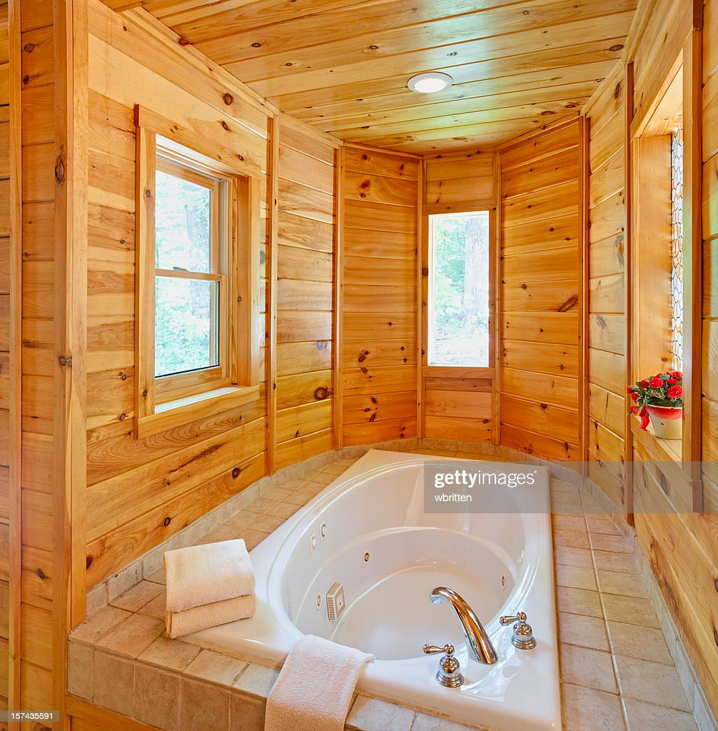 Inviting hot tub (XXXL) : Stock Photo