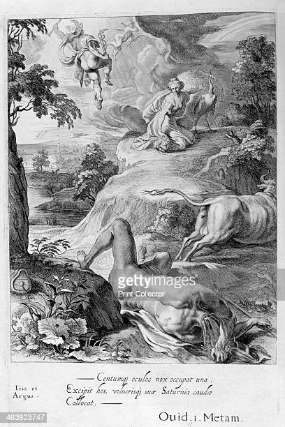 Mercury cuts off Argus' head 1655 A plate from Michel de Marolles's Tableaux du Temple des Muses Paris 1655 Found in the collection of Jean Claude...