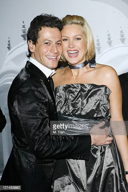 Ioan Gruffudd and Alice Evans during Giorgio Armani Celebrates 2007 Oscars with Exclusive Prive Show at Green Acres Estates in Beverly Hills...