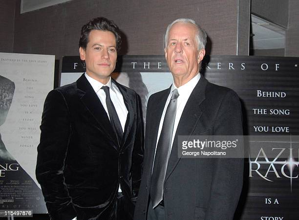 Ioan Gruffudd and director Michael Apted during Amazing Grace New York City Premiere February 12 2007 at Cinema I in New York City New York United...