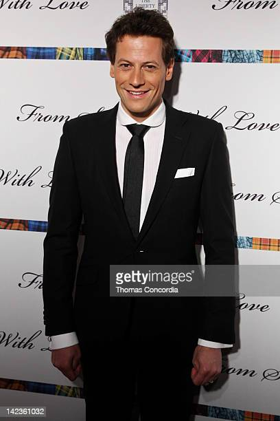 Ioan Gruffudd attend From Scotland With Love at The Liberty Theatre on April 2 2012 in New York City