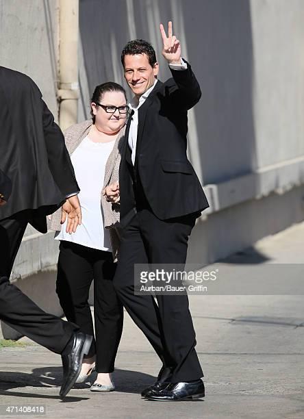 Ioan Gruffudd is seen in Los Angeles on April 27 2015 in Los Angeles California