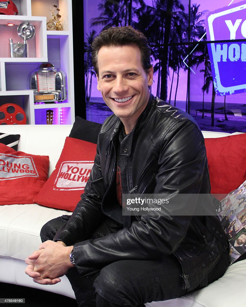 Ioan Gruffudd Visits Young Hollywood Studio
