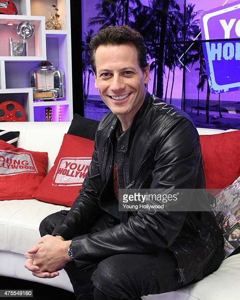 Ioan Gruffudd visits the Young Hollywood Studio on May 19 2015 in Los Angeles California