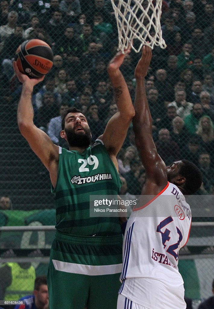 Panathinaikos Superfoods Athens v Anadolu Efes Istanbul - Turkish Airlines Euroleague