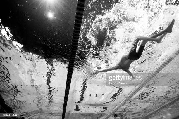 Ioannis Kostakis of Greece competes in men´s 150 m Individual Medley SM3 during day 7 of the Para Swimming World Championship Mexico City 2017 at...