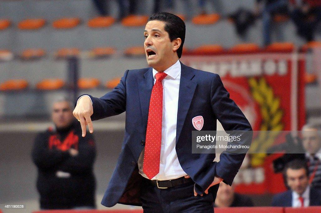 Ioannis Sfairopoulos, Head Coach of Olympiacos Piraeus ...