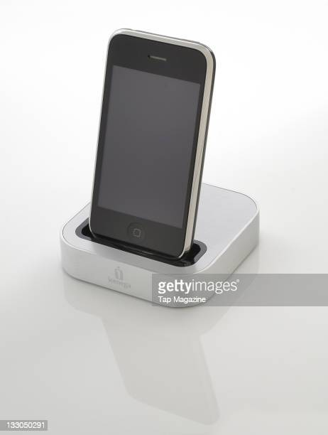 Iomega SuperHero dock for Apple iPhone and iPod touch session for Tap Magazine taken on February 8 2011