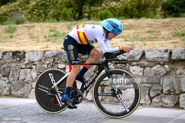 Ion Izagirre Insausti of Spain and Team Astana – Premier Tech competes during the 76th Tour of Spain 2021, Stage 1 a 7,1km individual time trial from...