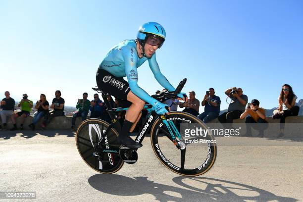 Ion Izaguirre of Spain and Astana Pro Team / Public / during 70th Volta a la Comunitat Valenciana 2019 Stage 1 a 102km Individual Time Trial stage...