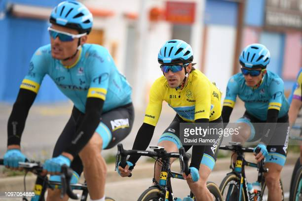 Ion Izaguirre of Spain and Astana Pro Team Yellow Leader Jersey / during the 70th Volta a la Comunitat Valenciana 2019 Stage 5 a 885km stage from...