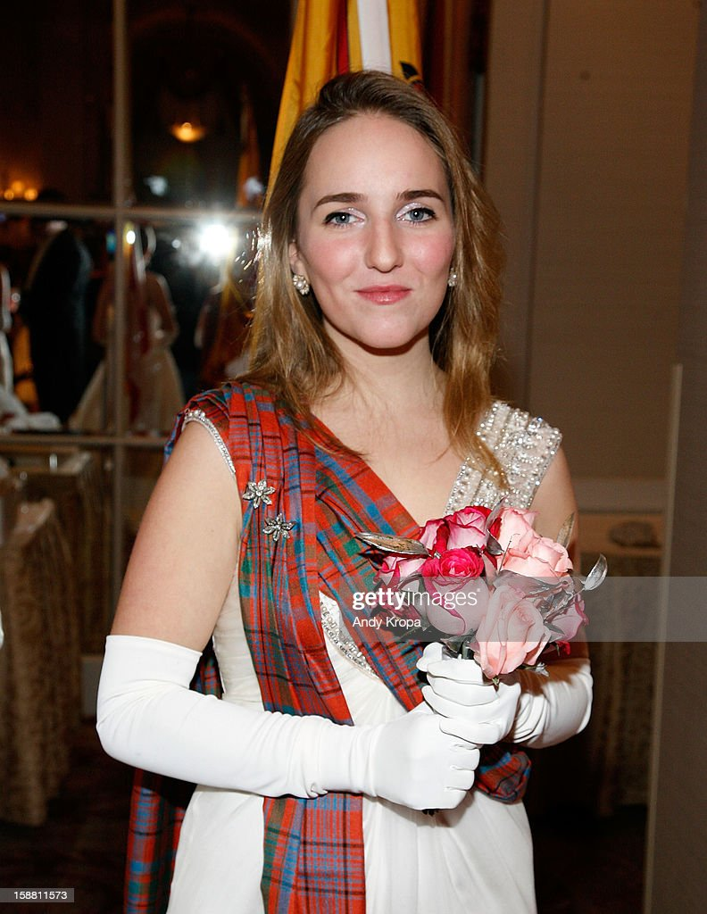 Iona Murray attends The 58th International Debutante Ball at The Waldorf-Astoria on December 29, 2012 in New York City.