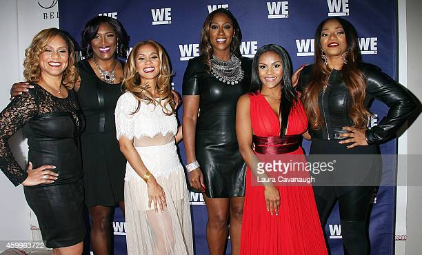 Ione Rucker Taj Johnson George Ruby Rucker Cheryl Coco Cemons Ellen Rucker Carter and Leanne Lelee Lyons attend SWV Love Thy Sister And Match Made In...