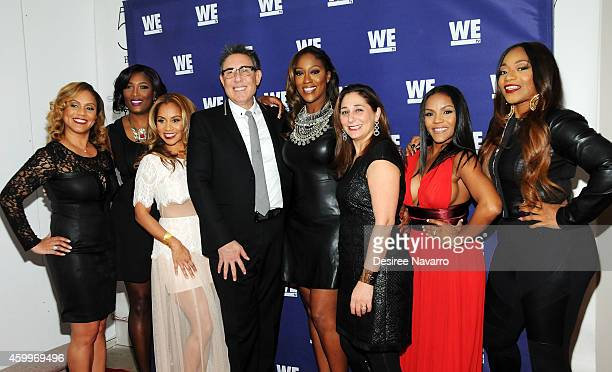 Ione Rucker Taj Johnson George Ruby Rucker President of WE tv Marc Juris Cheryl 'Coco' Cemons Lauren Gellert Ellen Rucker Carter and Leanne 'Lelee'...