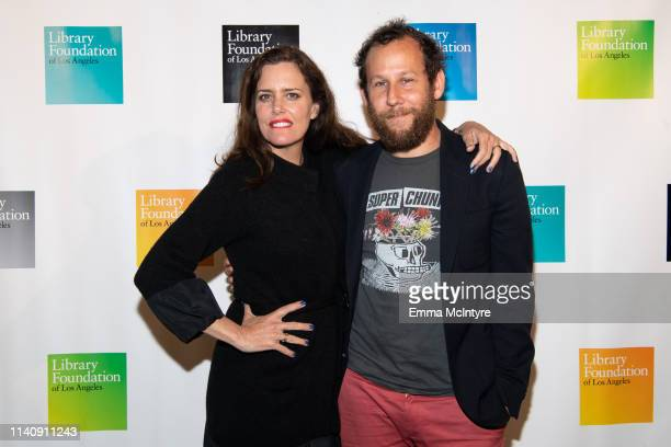 Ione Skye and Ben Lee attend the Library Foundation of Los Angeles' Young Literati's 11th Annual Toast at City Market Social House on April 06 2019...