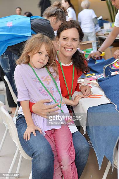 Ione Skye and Goldie Priya Lee attend Hammer Museum KAMP 2016 on May 22 2016 in Los Angeles California