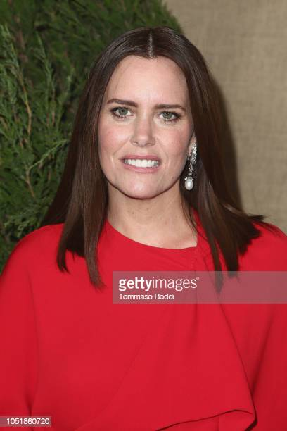 Ione Skye attends the Los Angeles Premiere Of HBO Series Camping at Paramount Studios on October 10 2018 in Hollywood California