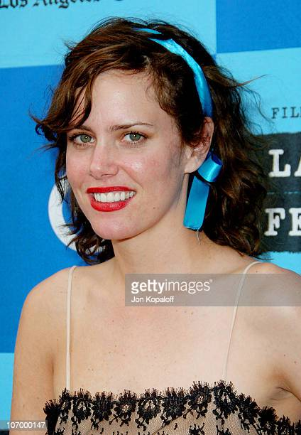 Ione Skye during 2006 Los Angeles Film Festival The Lather Effect Los Angeles Premiere Arrivals at Mann Festival Theatre in Westwood California...