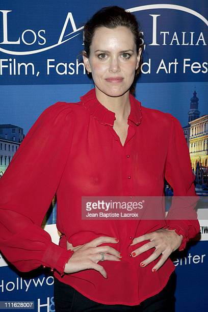 Ione Skye during All the Invisible Children Italia Film Fest Opening Benefiting UNICEF at Mann Chinese 6 Theatres in Hollywood California United...