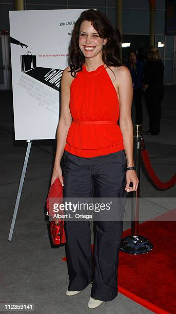 Ione Skye during Criminal Los Angeles Premiere Red Carpet at Arclight Theater in Hollywood California United States