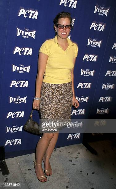 Ione Skye during PETA 20th Anniversary Party at The Viper Room in West Hollywood California United States