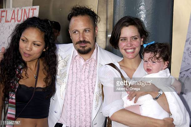 Ione Skye with daughter Kate Chef Fred Eric during Opening of Airstream Diner in Beverly Hills at Airstream Diner in Beverly Hills California United...