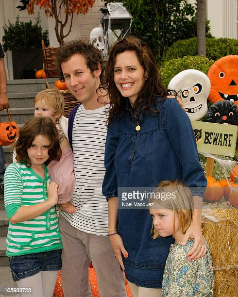 Ione Skye's daughter Kate Netto Ione Skye and Ben Lee's daughter Goldie Priya Lee Ben Lee and Ione Skye attend the Pottery Barn Kids' Halloween...