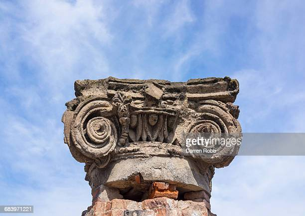 Ionic Capital from the Basilica of Pompeii, Italy